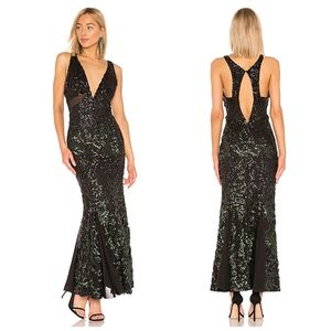 NBD Troye sequin gown